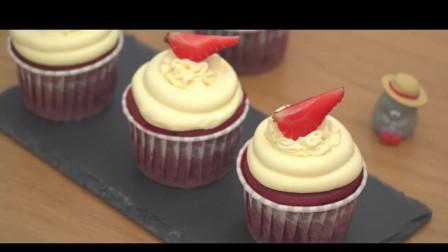 红丝绒蛋糕的简单做法