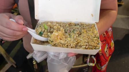 台湾60元一份的炒饭,真是一分价钱一分货