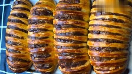 蓬松好吃的毛毛虫面包,制作要点全在这,看了才知道原来这么简单