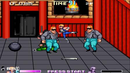 怀旧游戏双截龙,在怀旧与游戏途中,体会人生乐趣