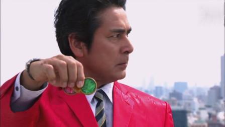 假面骑士OOO:800年前OOO用的硬币登场!强袭变身!战斗吧映司!