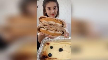 无糖无油欧包(内馅儿可以订制哦)✚乳酪布丁蛋糕, 超级喜欢