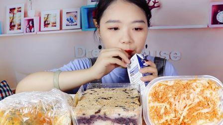 紫米肉松 蟹柳肉松 香葱肉松卷!!!