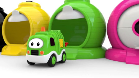 挖掘机视频表演大全236 工程车 推土机 挖土机玩具视频