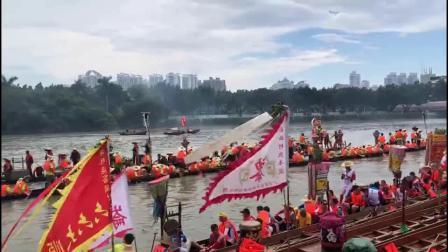 2019 河北水龍船景 揚箕景 - 群龍齊聚 龍船探親