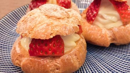 草莓泡芙:在制作过程中,我草莓一直没有出现,这绝不是耍大牌