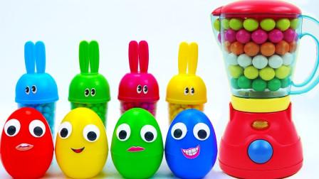 趣味亲子兔型杯魔力变惊喜玩具,循环创意激发宝宝想象力与创造力