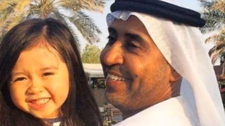 5岁小女孩因为太漂亮,被迪拜土豪看中,奢侈品豪车样样都送