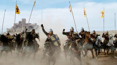 十字军耶路撒冷国王与萨拉丁巅峰对决骑兵战争!