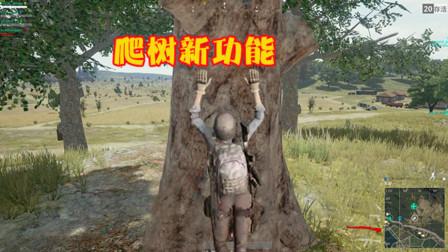 绝地求生:新地图玩家能上树?曝光隐藏彩蛋,解锁全新技能!