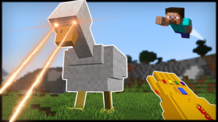 我的世界:史蒂夫与大鸭子不得不说的故事,这鸭子还能发射导弹?