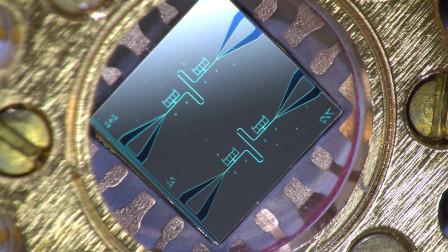 """中国量子计算机""""重大突破""""!20个超导量子比特芯片,全局纠缠!"""