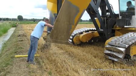 大型农场之铺设非开挖田排水水管
