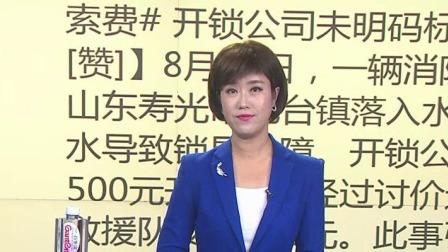 救援车进水维修 开锁公司应明码标价 每日新闻报 20190815 高清版