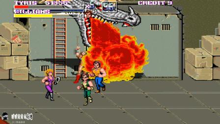 双截龙17人版,各种游戏角色汇聚,壮大队伍,才能重获新生