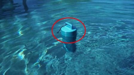 """游泳池里的水干不干净,把这个""""水杯""""放进去,就能一目了然"""
