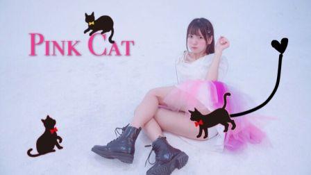 【Kyokyo】PINK CAT❤换装PLAY!高跟性感喵和蓬蓬可爱喵你想要哪一个呀