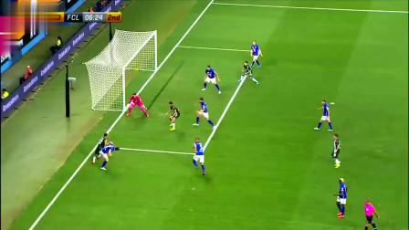 欧联杯西班牙人3-0卢塞恩 武磊首发首进球个人集锦
