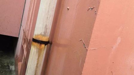 房屋漏水是排水管排水不到位