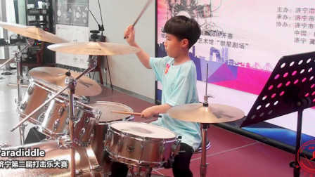 一起欣赏,一首架子鼓表演歌曲,超带劲!