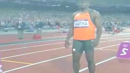 博尔特精彩对决布雷克 伦敦奥运会男子200米决赛!