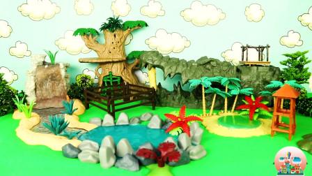 儿童动物玩具,野生动物和海洋动物玩具,章鱼玩具,大象玩具