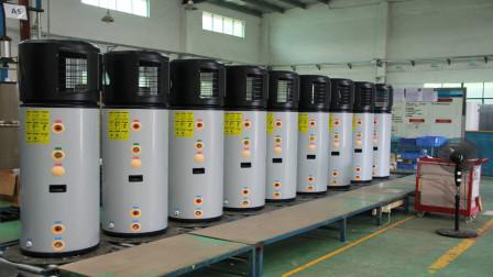 空气能热水器安全还省电,为什么很少人用它?今天算长见识了