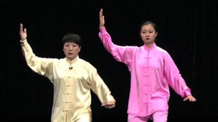 24式太极拳:白鹤亮翅