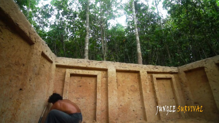 野外生活 建造最地下小屋