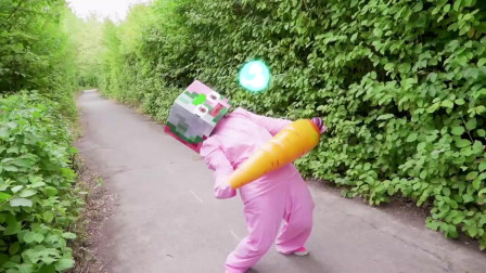 我的世界动画-胡萝卜争夺战-Monster Eight