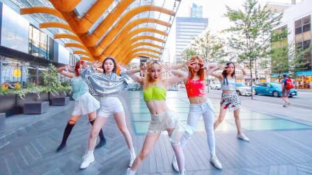 韩舞:ITZY - ICY舞蹈街头版(天舞)温哥华