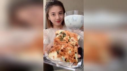 葱香肉松卷✚牛奶火龙果红枣✚每天必备吃不胖小原液