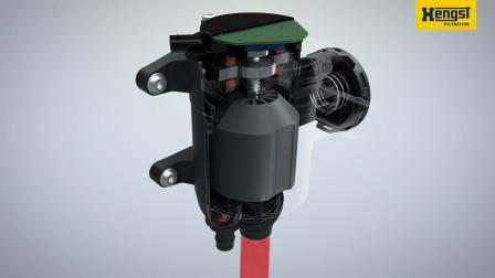 Bluetron - Disc separators for modern passenger car engines  Animation  Heng...