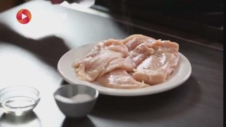 美味研究所 解锁新菜单 桃味鸡肉配甜辣玉米面包