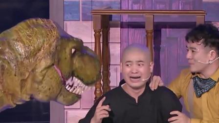 现实版侏罗纪公园开演,林涛把恐龙都给气复活了
