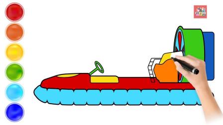 成长益智玩具,绘画设计出海游轮,海上捕鱼过程