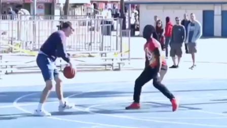 篮球高手打扮成书呆子,刚开始还被看不起,最后大神虐遍野球场