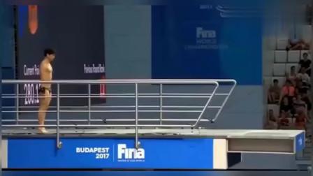 这可是世锦赛跳水比赛奇葩逆天失误请问还有谁