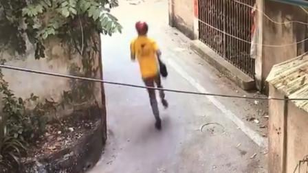 广东一男子假扮外卖骑手踢打8岁女童:因与其母存生意纠纷