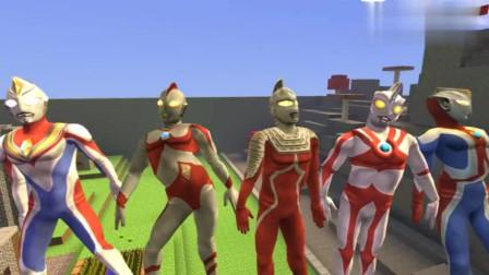 奥特曼五兄弟进化超级赛亚人
