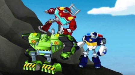 变形金刚 汽车人救援 英雄历险记 救援机器人 拯救地球的使命 擎天柱机器人 威震天