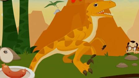 考古学家沙漠挖掘 恐龙世界大发现 恐龙骨骼化石的发掘 恐龙宝贝再现与认知