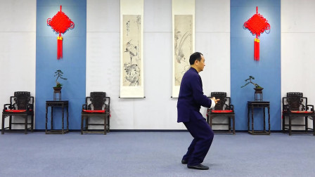 太极名家刘勇陈氏太极拳新架一路教学第七集:金刚捣碓