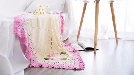 雪妃尔毛线天使之语毯子材料包视频教程多款式视频