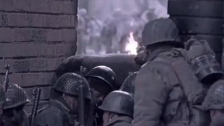中国解放战争影片,国军有重武器,解放军丝毫不畏