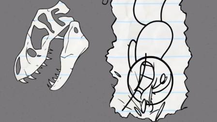 搞笑铅笔画小人:讨厌的方向指示牌让我们向下挖?
