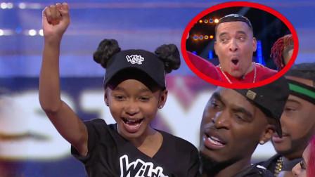 直接把对手怼自闭!12岁黑人女孩太霸气,一开口rap帅呆全场!