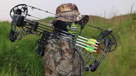 复合弓如何射准100米果果射箭器材