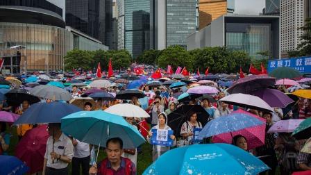 香港反对派多吗