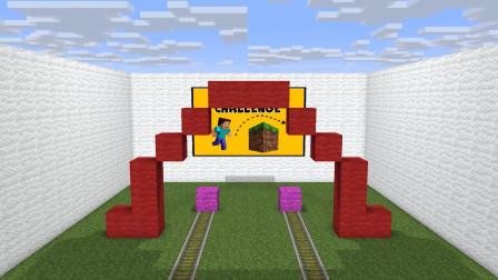 我的世界动画-菜鸟挑战高手-Pro Monster School